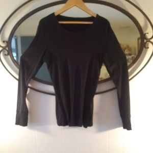GAP Black Longsleeved Top